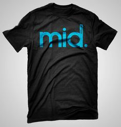 Mid..or feed. Self explanatory really. Black, 100% Ring-Spun cotton tee shirt. Other lanes also available in our store. All shirts are hand