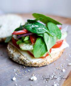 Mediterranean Veggie Sandwich, though I'd add avocado and ruin the authenticity...