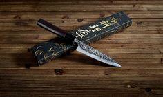 """The beautiful Shizuku Petty 4.75"""" knife. #japanese #knife #cooking"""