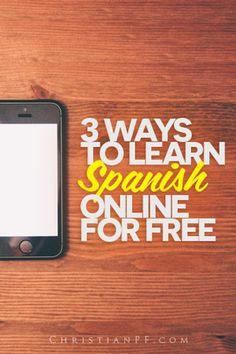 Here are 3 simple, #free, and even FUN ways you can start learning to speak #spanish online today!