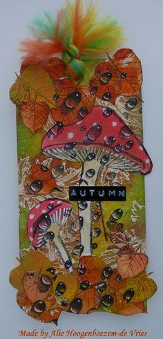 Alie Hoogenboezem-de Vries: Autumn colours....tag