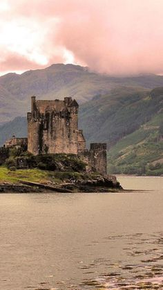 I can feel its 'hauntness' thousands of miles away............Eilean Donan Castle, travel, Scotland