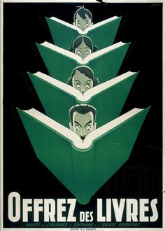 We can all agree that propaganda is bad. Right? But wait, let me ask you: what about literary propaganda? That is, what if you encounter a poster, and it slyly, via trickery, encourages you to read…