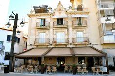 Villa Lola, Paseo de la Ribera de Sitges Sitges, Spain, Traveling, Europe, Holidays, Mansions, House Styles, Home Decor, Walks