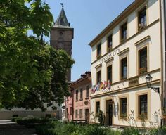 Pension City (Sady 5.května 52) Situated in the historical centre of Pilsen, Pension City features free Wi-Fi in the guest rooms and a rich breakfast buffet each day. The Square of the Republic is few steps away. #bestworldhotels #hotel #hotels #travel #cz #plzen