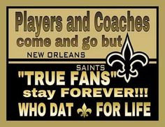 It's hard but yes~Who Dat!!