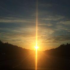 A beautiful ending to a wonderful day iPhone #sunset #nature #sun #sky #clouds #cloudporn #skyporn #skylovers #sundown #sunbeams #like4like #suburban #longisland #newyork #instadaily #sunsetlovers by fedz_fotography