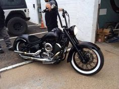 Yamaha v star 1100 bobber/chopped sick custom