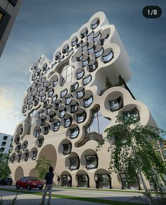 Future construction home architecture styles, unique architecture, futurist Home Architecture Styles, Architecture Design, Futuristic Architecture, Beautiful Architecture, Contemporary Architecture, University Architecture, Pavilion Architecture, Architecture Awards, Chinese Architecture