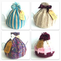 These gorgeous tea cosies are hand knitted by my talented friend, starting at just $10 they would make a beautiful gift. Let me know if you're interested x