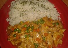 Kuřecí směs za minutku recept - TopRecepty.cz No Salt Recipes, Chicken Recipes, Fitness, Grains, Rice, Meat, Seeds, Laughter, Jim Rice