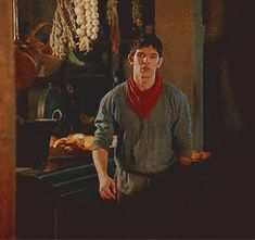 "'Merlin Series 5 should have been subtitled, ""Merlin goes to the gym"" (click for .gif)' - Leaving comment ;)"