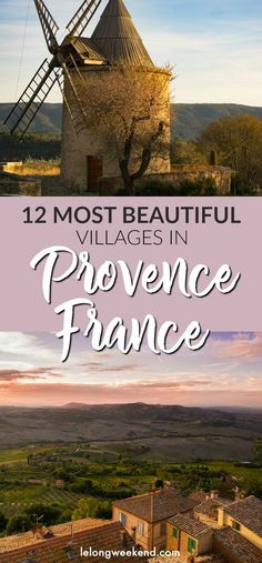12 Most Beautiful Villages of Provence, France