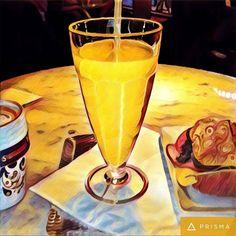 Frukost med ingefära drink och @webbtanten är bra kombo inför #helg. Önskar er alla en riktigt trevlig helg