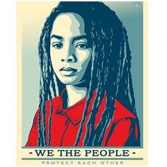 Love the art and message this series stands for created by various artists in the @amplifierfoundation. If you haven't heard about it check out their bio and kickstarter campaign it's inspiring and beautiful.  #wethepeople #womensmarch #art