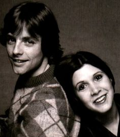 Mark Hamill & Carrie Fisher...gotta love these glimpses into their younger days!