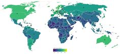 This Map Tells You When Everyone in the World Is Going to Die