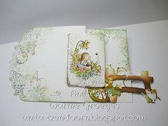 Anita 's Warme Groetjes: Paashaasjes...