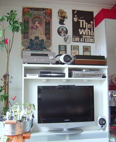 tv corner ( ikea besta ) by Joyful Lova, via Flickr