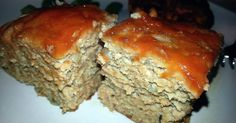 Great recipe for Applesauce Turkey Meatloaf. A bit sweet and different kind of meatloaf : )