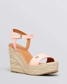 MARC BY MARC JACOBS Open Toe Platform Espadrille Wedge Sandals