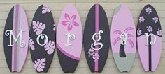surf board with name