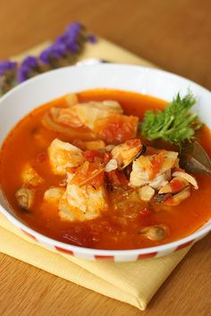 Easy Bouillabaisse ....... yummy for a fall day!