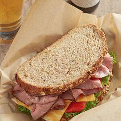 Real Food Recipes, Healthy Recipes, Healthy Meals, Roast Pork Sandwich, Grilled Carrots, Good Food, Yummy Food, Baking Company, Whole Grain Bread