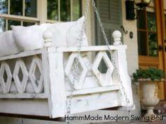 HammMade Modern Swing Bed