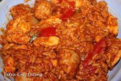 Extra Easy Eating: Chicken Jambalya