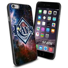 Tampa Bay Rays MLB Galaxy Logo WADE6190 Baseball iPhone 6 4.7 inch Case Protection Black Rubber Cover Protector WADE CASE http://www.amazon.com/dp/B013Z1EEXY/ref=cm_sw_r_pi_dp_zeyFwb0HAZ2Y9