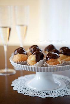 champagne cream puffs