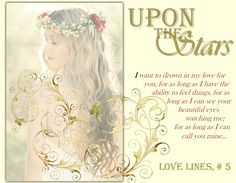 #Upon_The_Stars - #LoveLines final book - COMING #May2nd 2017!!!