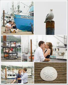 Published on The Oceanside Bride September 2012  Engagement photos  Beach  Nautical  Oregon Ocean