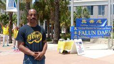 Orlando Residents Feel Energy of Falun Gong Exercises