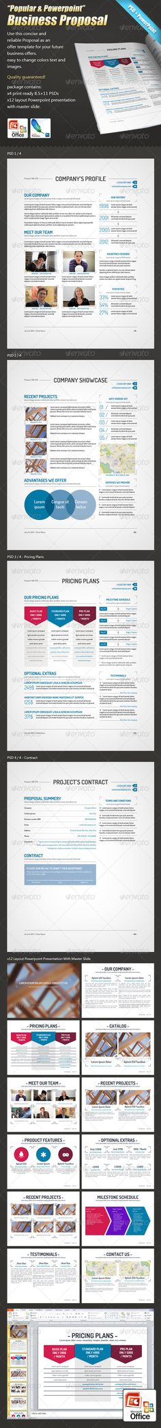 Real Estate Corporate Clean Project Proposal 16 pages professional - Sample Contract Proposal Template