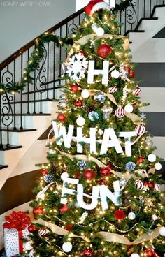 Oh What Fun Christmas Tree | Honey We're Home