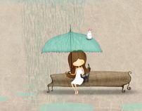 Rain #illustration #design #art