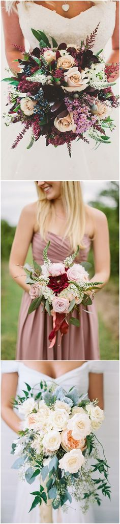 Wedding    Ideas » Bouquet » 26 Prettiest Fall Wedding Bouquets to    Stand You Out »   ❤️ More:     http://www.weddinginclude.com/2017/08/prettiest-fall-wedding-bouquets-to-stand-you-out/