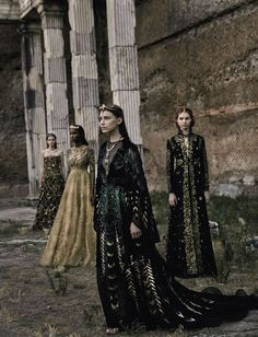 Valentino Haute Couture by Fabrizio Ferri for Vogue Italia September 2015