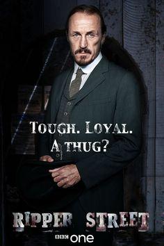 Ripper Street - Jerome Flynn as Detective Sgt. Bennet Drake.