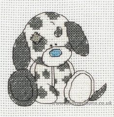 Tatty teddy my blue nose friends cross stitch | Tatty Teddy My Blue Nose Friends Splodge