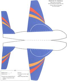 Cut & Assemble Paper Airplanes That Fly By: Arthur Baker - Welcome to Dover Publications Daedalus 1