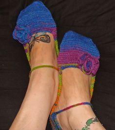 Whimsical Knitting Designs: Shannon's Slippers