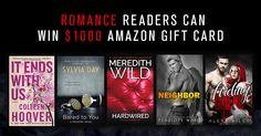 $1000 #Romance and #Erotica Giveaway! #amreading