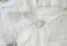 """Sara Scanderebech """"White series"""" Collage and watercolors on paper 2009"""