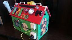 Gifts for Baby, busy board, busy box, activity board, sensory board, sensory toys, wooden toy, latch board, travel board, lock