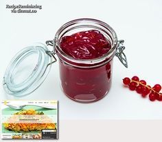 Traditional Norwegian Redcurrant Jelly / Tradisjonell Ripsgelé