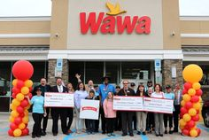 Thank you Wawa for supporting the fight to end hunger and so many other important causes.