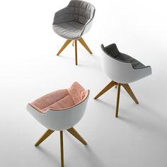 Silla Flow Slim armchair de MDF Italia